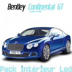 Pack intérieur led pour Bentley Continental GT