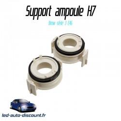 Support ampoule adaptateur H7 Xénon pour Bmw série 3 E46