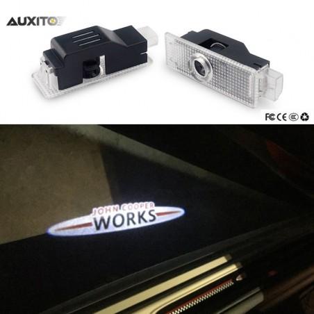 Module éclairage bas de portes LOGO LED JOHN COOPER WORKS pour Mini