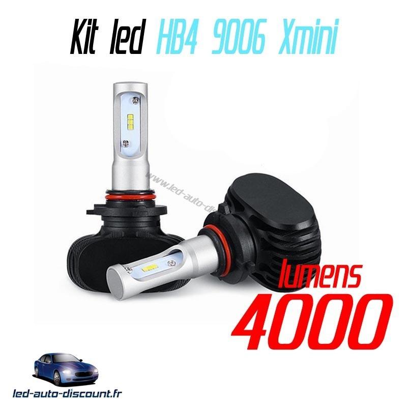 Pack croisement ventilés HB4 9006 led