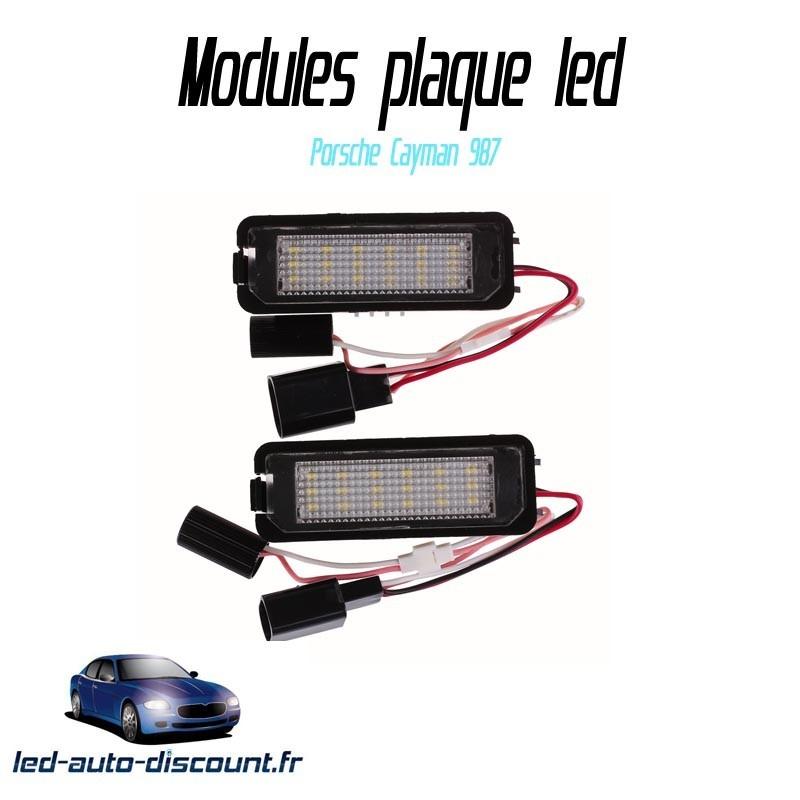 Pack Module de plaque LED pour Porsche Cayman 987