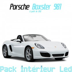 Pack Full Led interieur Porsche Boxster 981