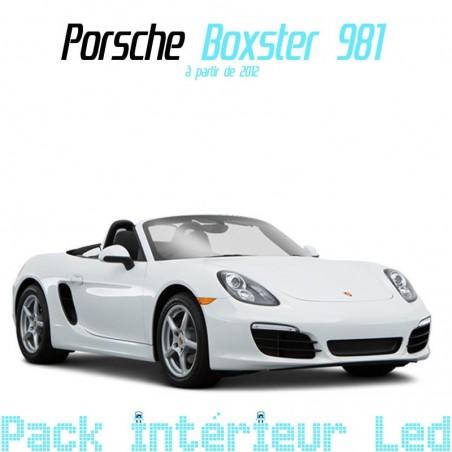Pack intérieur led pour Porsche Boxster 981
