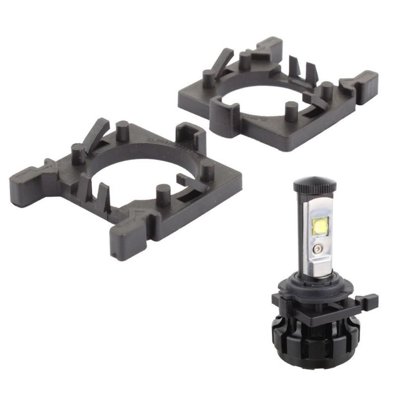 Support ampoule adaptateur H7 Led pour Ford Fiesta