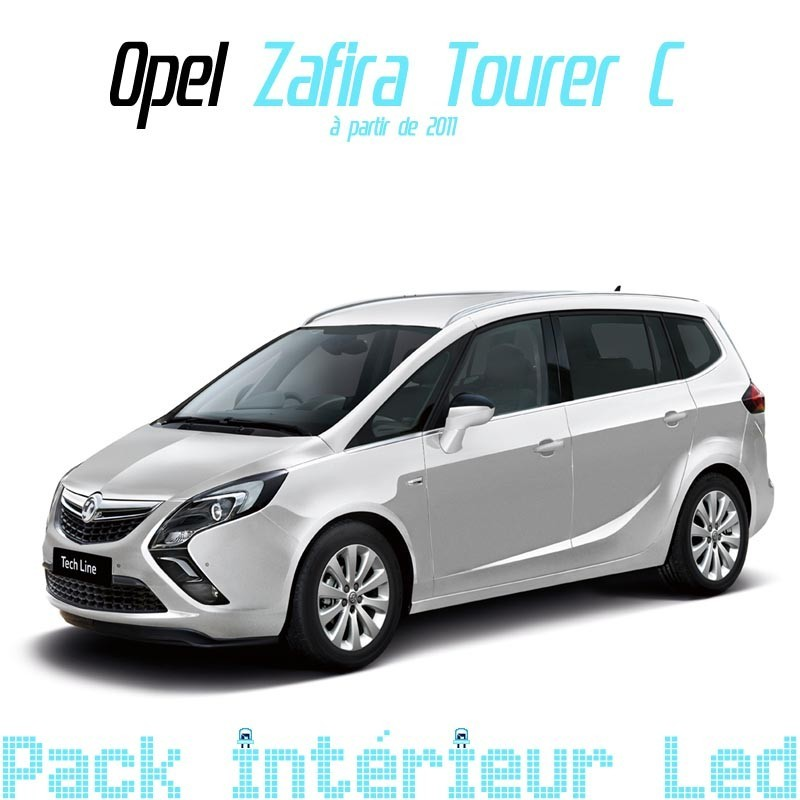 pack int rieur led pour opel zafira tourer c led auto discount. Black Bedroom Furniture Sets. Home Design Ideas