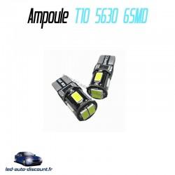 Ampoule led T10 W5W - (6SMD-5630) - Anti Erreur ODB