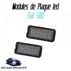 Pack modules de plaque led pour Fiat 500