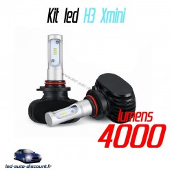 Pack ampoules led H3 Xmini 6000k