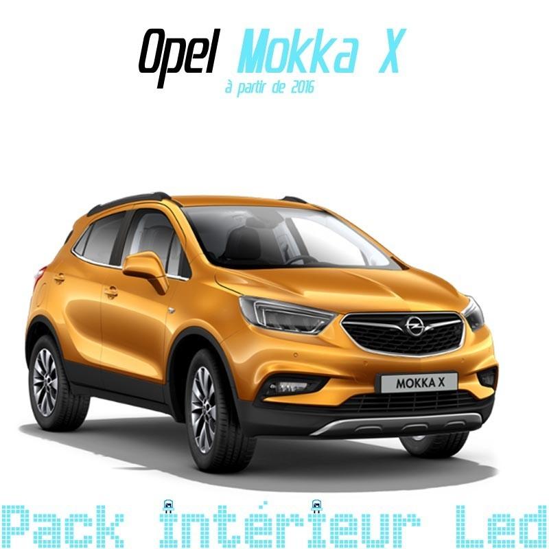 Pack intérieur led pour Opel Mokka X