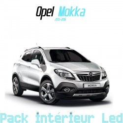 Pack Led interieur Opel Mokka