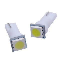 Ampoule Led T5 W5W 1 SMD - compteur Tableau de bord