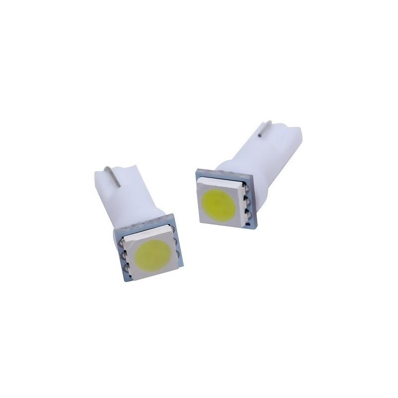 Ampoule Led T5 W5W - compteur Tableau de bord