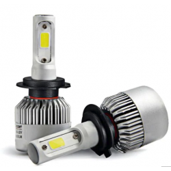 Pack ampoules led H7 COB 6000k