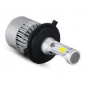 Pack ampoules led H4 COB 8000lm - 6000k