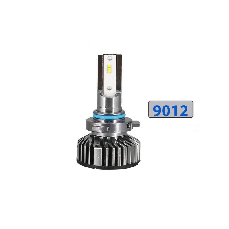 Pack croisement ventilés H7 Mini size 5000lm ZES