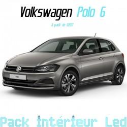 Pack intérieur led pour Volkswagen Polo 6 (my18)