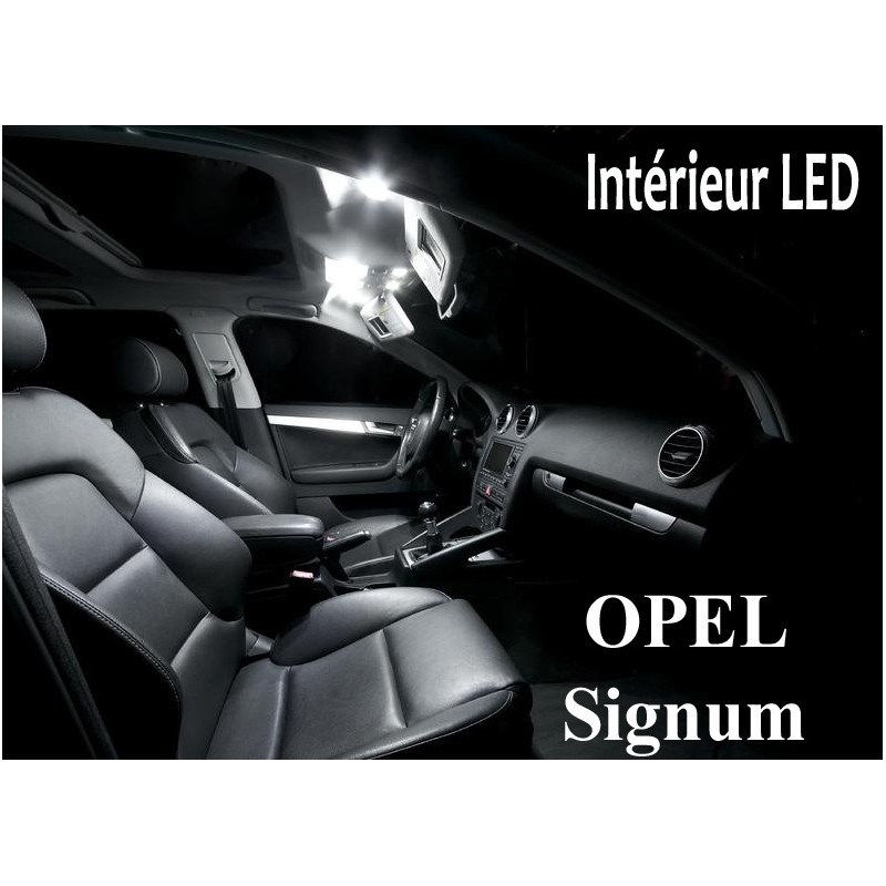 Pack Led interieur Opel Signum