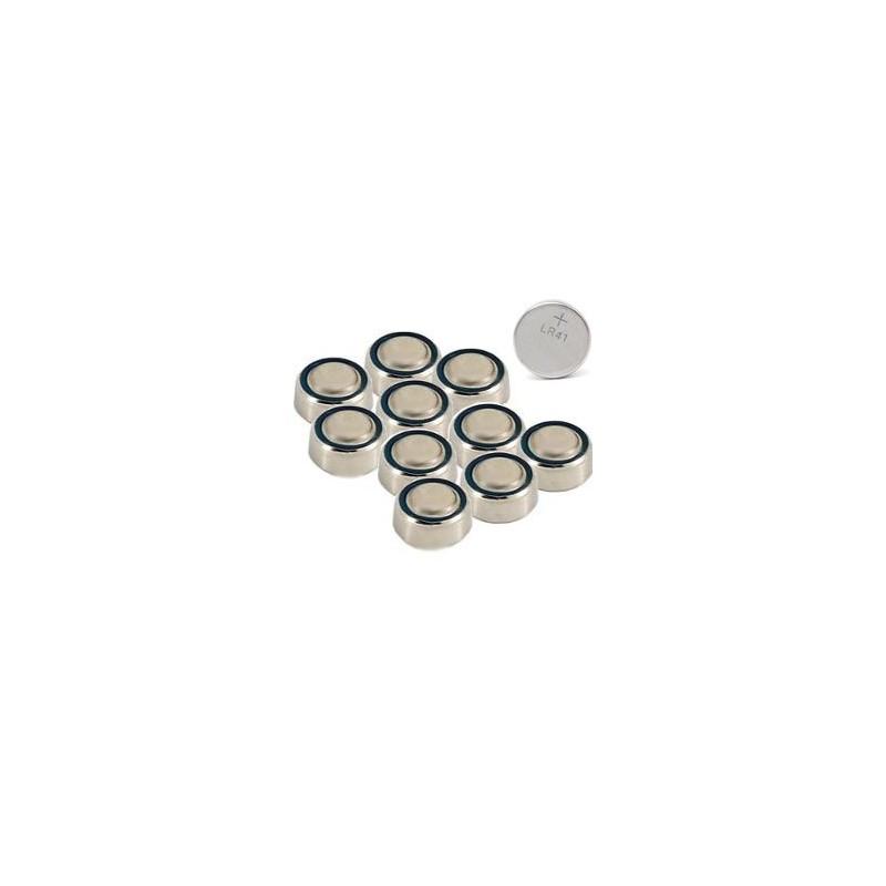25 piles LR41 pour ampoule led ballon