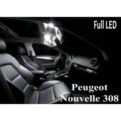 Pack intérieur led pour la Nouvelle Peugeot 308