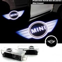 Module éclairage bas de portes LOGO LED pour Mini