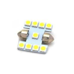 Ampoule Navette Led 9 SMD 5050