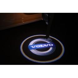 Module éclairage bas de portes logo led pour Volvo