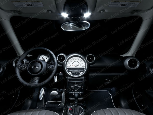 pack int rieur led pour mini countryman cooper s r60 led. Black Bedroom Furniture Sets. Home Design Ideas
